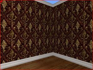 Sherlock Living Room Wallpaper Wall