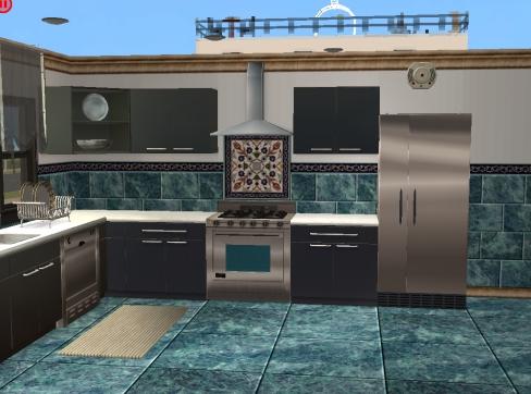 Mod The Sims More Kitchen Tile And Backsplash Sets