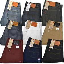 Levis 514 Jeans Slim Straight Mens Levi's Jean New 29 30 31 32 33 34 36 38 40 42