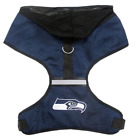 NFL Dog Harness Vest Mesh Hood for Dogs Puppy Fan Gear Game Pick From 30 Teams