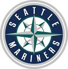 Seattle Mariners MLB Vinyl Decal - You Choose Size 2