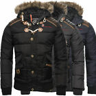 Geographical Norway Herren Winter Jacke Steppjacke Parka Belphegor Winterjacke