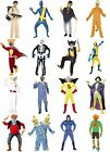 Mens Retro 80s Cartoon Character Fancy Dress Costume Batfink Super Ted Online UK