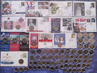 UK  British Territory 2 Pound coins Rare and Commemorative Circulated to UNC