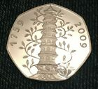 2009 Kew Gardens 50p Coin Proof Finish. Read listing..