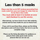 Keith Chegwin Cheggers Celebrity Card Mask Made In The UK Fast Dispatch