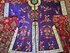 Beautiful Antique Chinese Silk Embroidery Robe