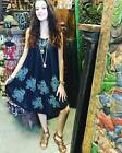 BOHO GYPSY HIPPIE RAYON TANK DRESS SUMMER BEACH STYLE COVER UP DRESSES XL