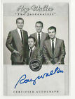 Ray Walker ELVIS: The Music Press Pass 2007 Certified Autograph Card Auto