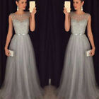 Women Lady Dress Formal Wedding Cocktail Evening Prom Ball Gown Party Bridesmaid