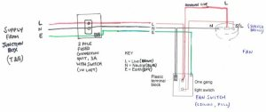 Extractor Fan and Switch Circuit Wiring  Is this Ok?  Page 1  Homes, Gardens and DIY