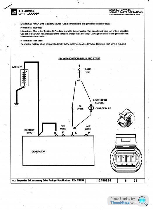 chevy ls1 alternator wiring  page 1  engines  drivetrain