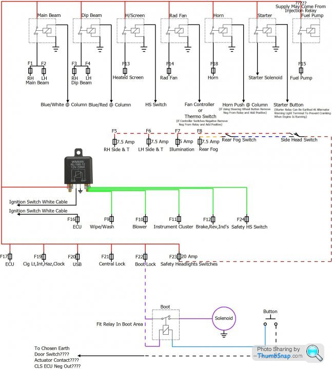 wiring on my project kit car  page 1  home mechanics