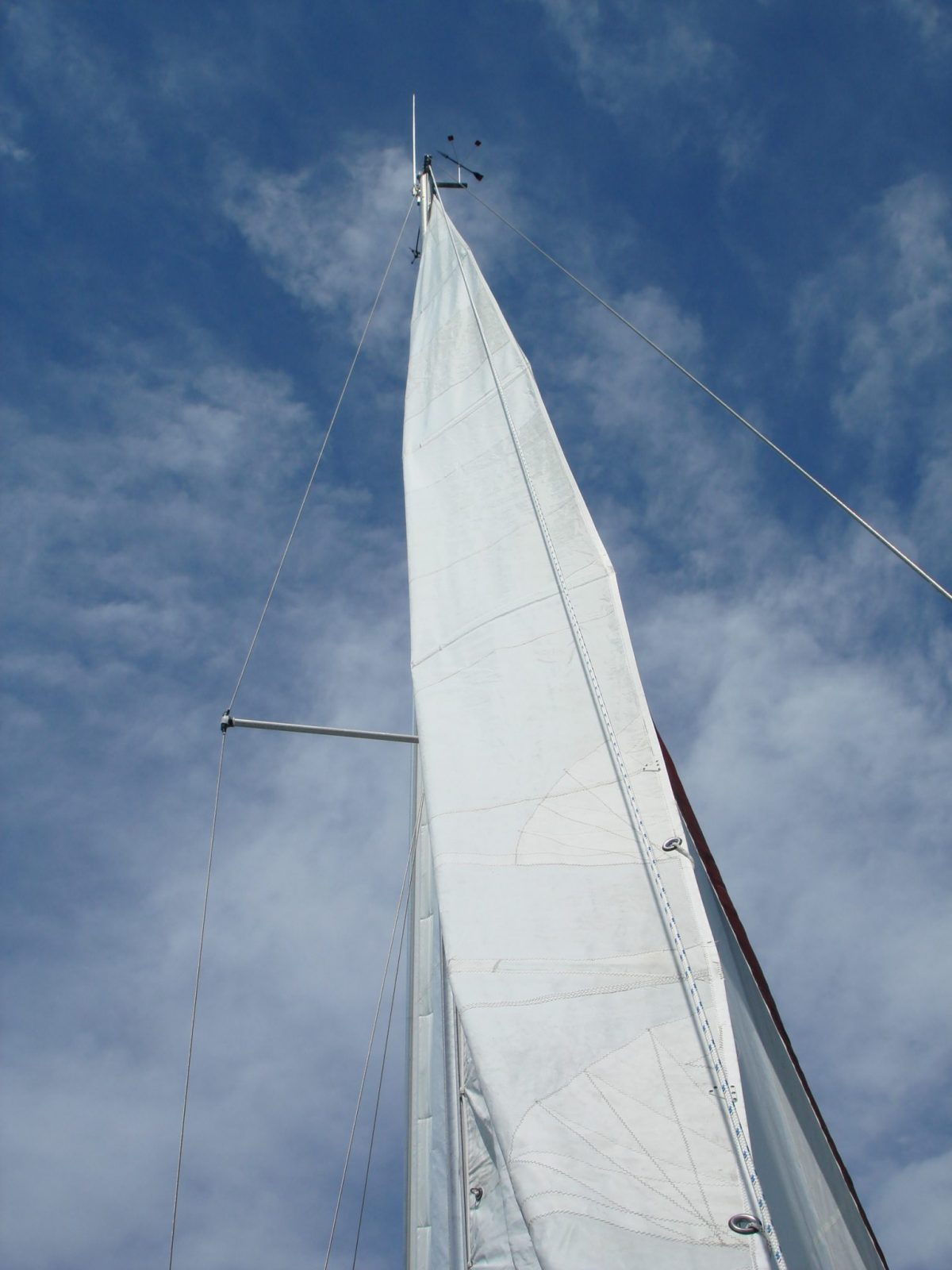 Main Sail on Boat