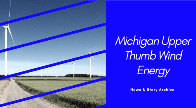 Michigan Showed Growth in Wind Energy in 2011.