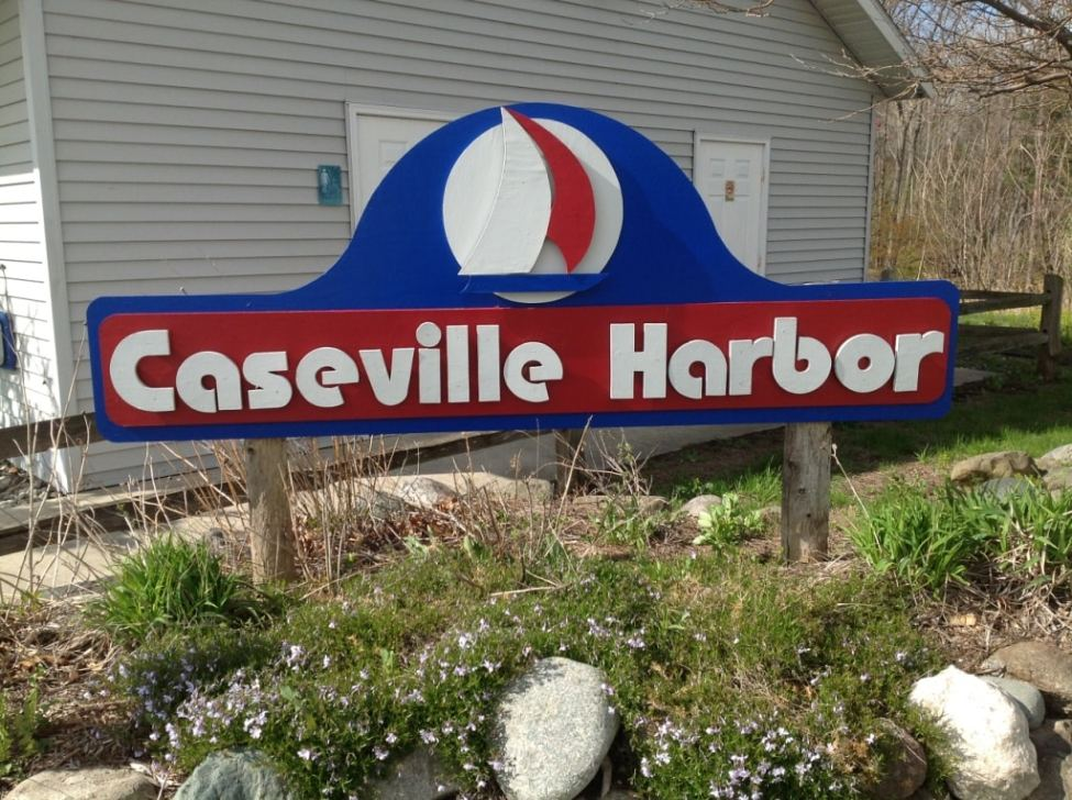 Caseville Harbor Sign