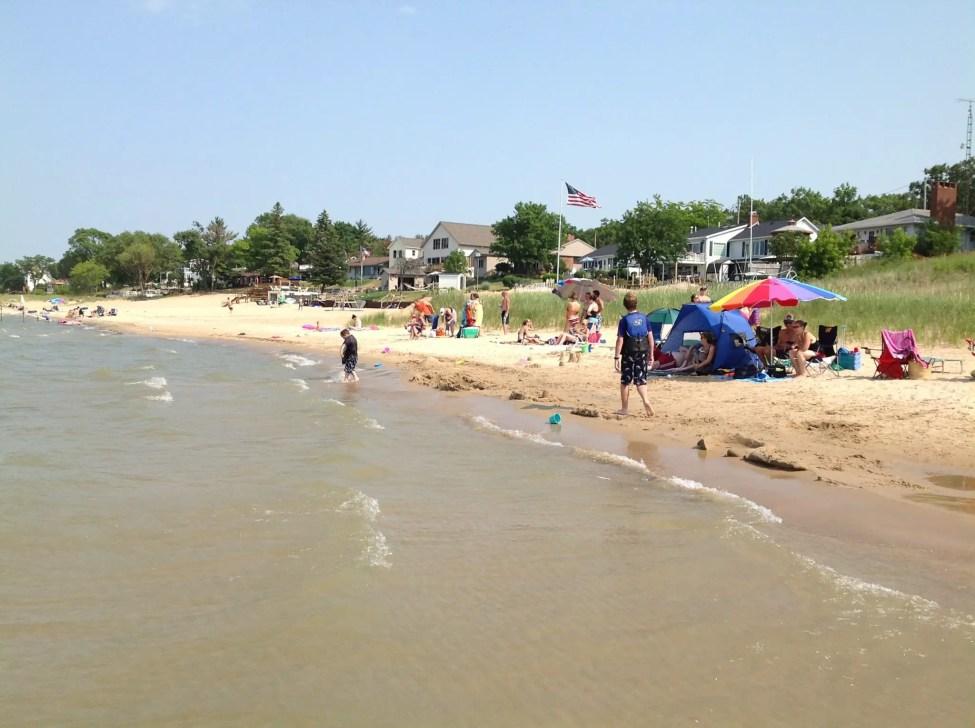 Philp County Park Beach near Caseville