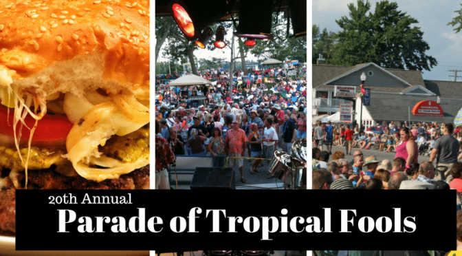Caseville Cheeseburger Parade of Tropical Fools
