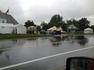 1st Day Rain Caseville Cheeseburger 2012