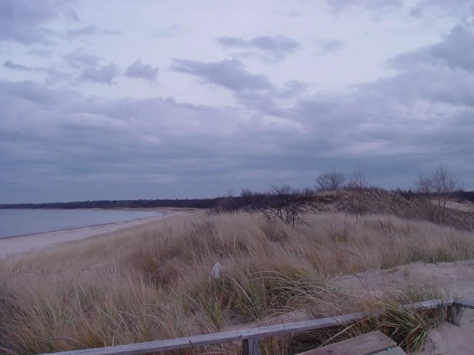 Port Cresent State Park Beach North