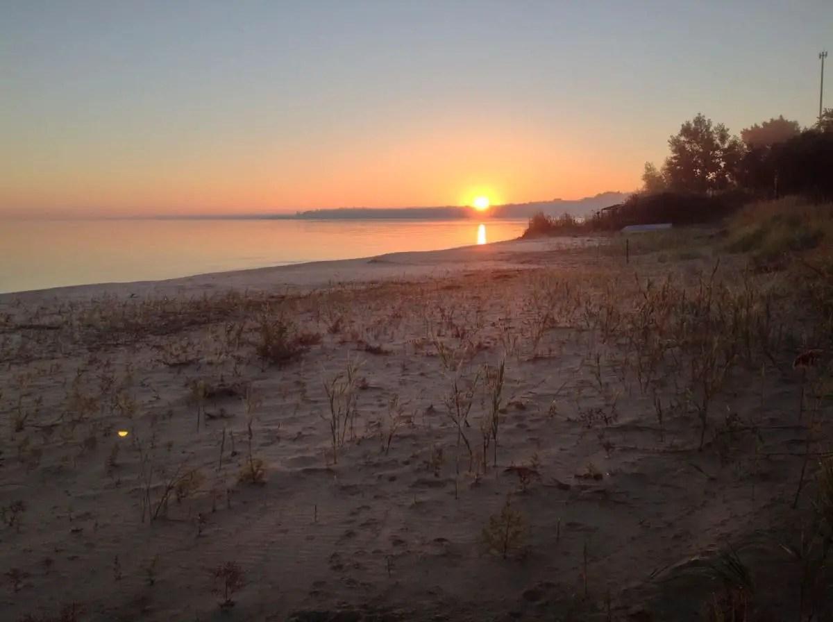 Saginaw Bay Sunrise