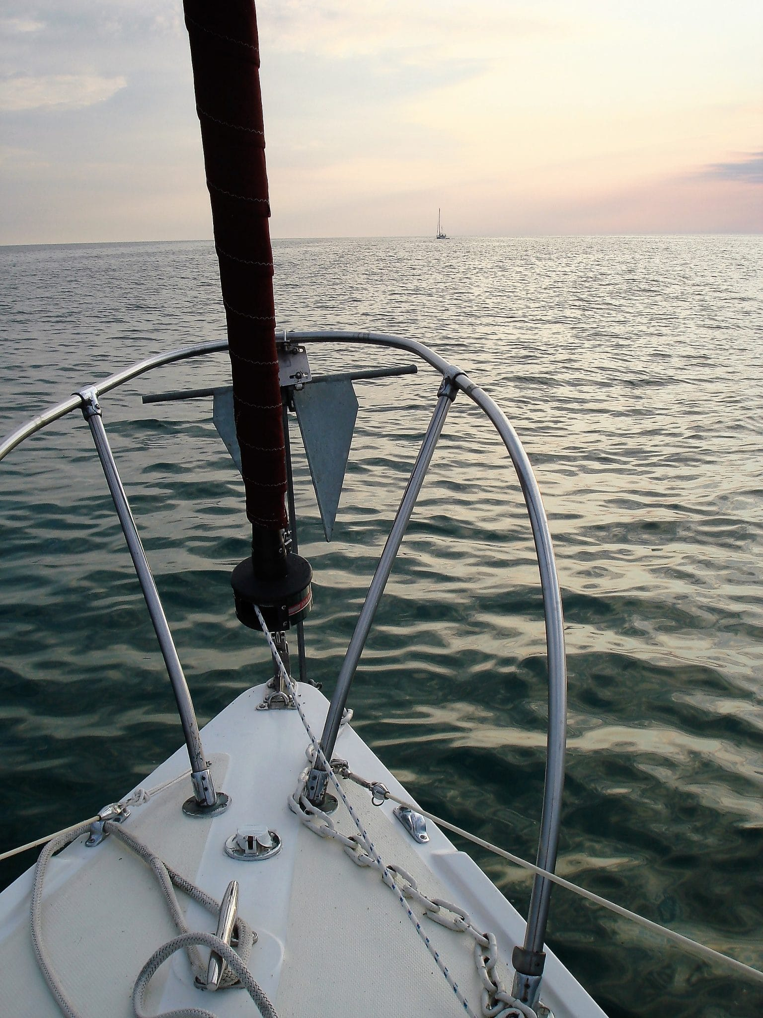 Sailing on Saginaw Bay