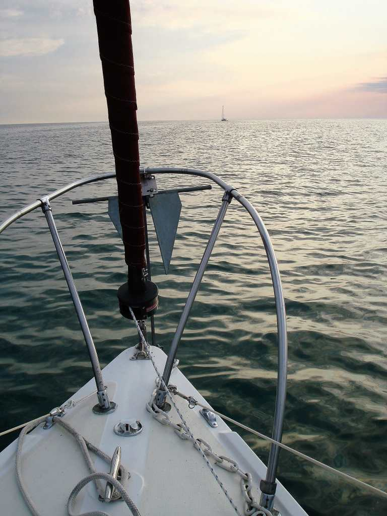 Sailing a Catalina 27 on Saginaw Bay