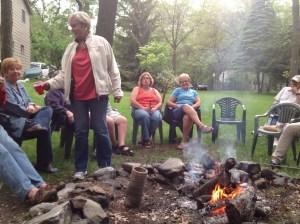 Caseville-Evening-Campfire
