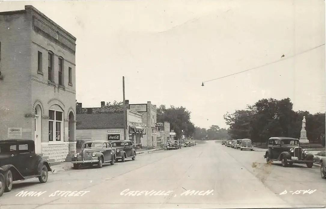 Caseville Postcard 1931