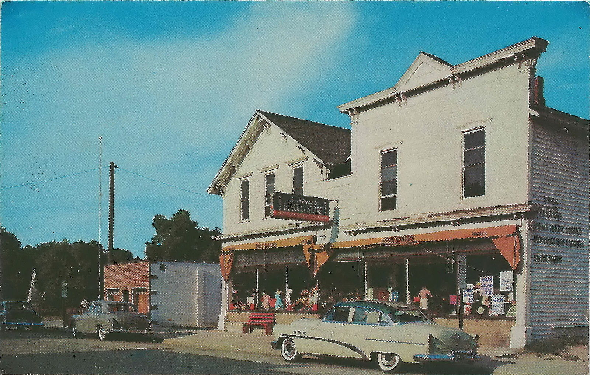 Caseville Postcard