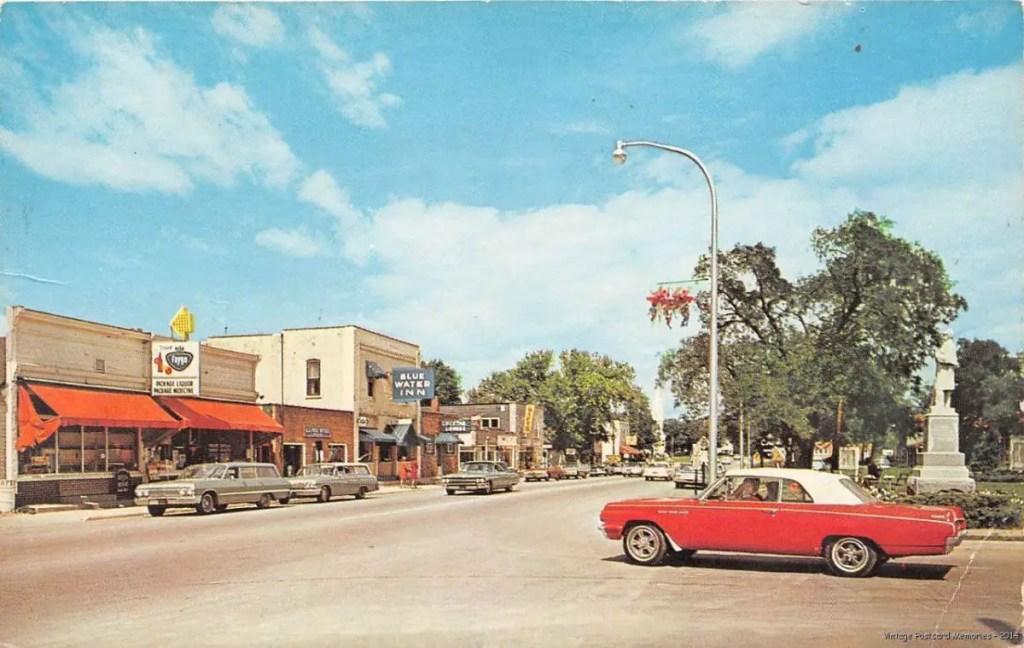 postcard 1964