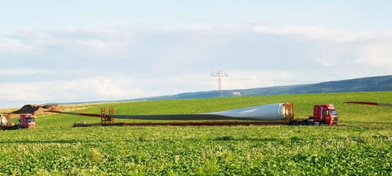 Wind Farm Project Blade