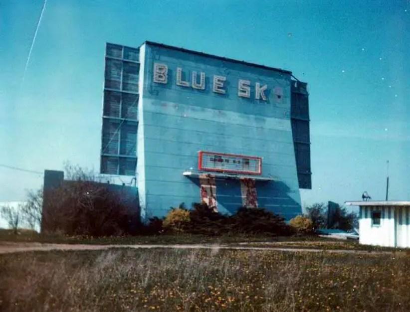 Blue Sky Drive In Caseville Michigan