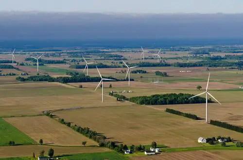 Michigan Wind Farm