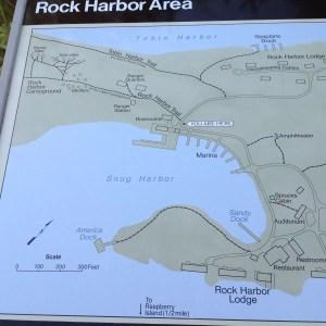 Rock Harbor Map