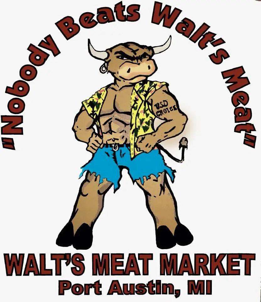 Walt's Meat Logo