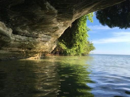 Pointe Aux Barques Caves