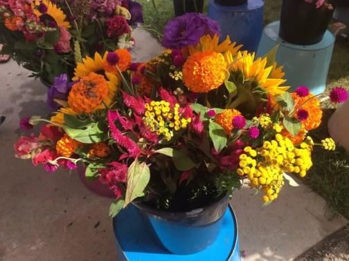 Port Austin Farmers Market Flowers