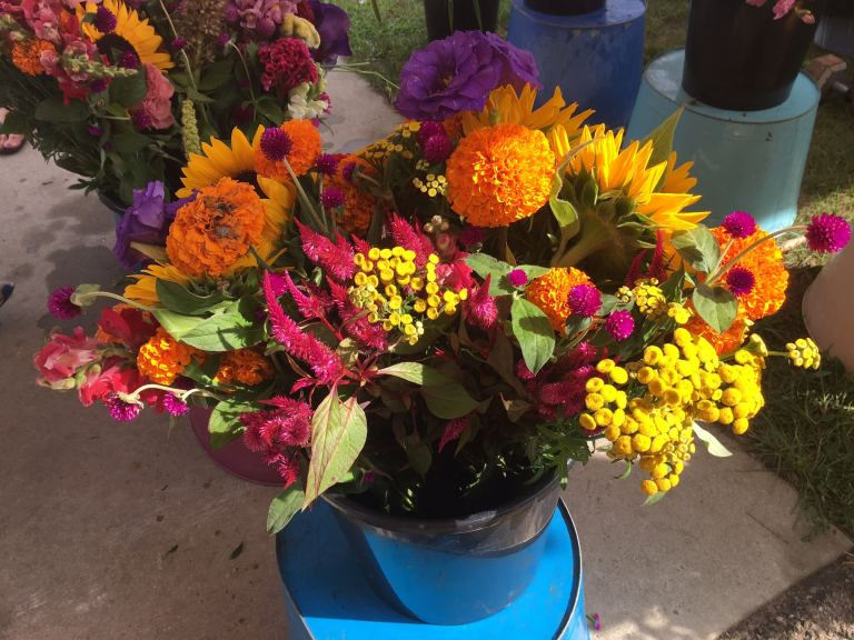 Port Austin Farmers Market Flowers