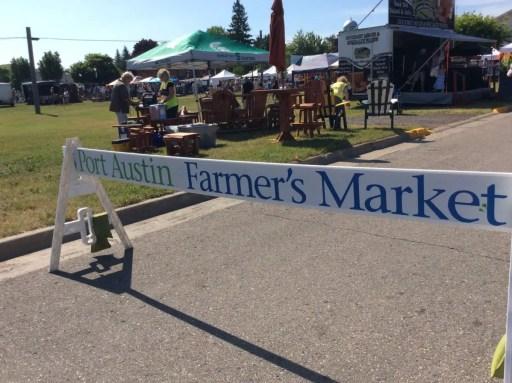 Port Austin Farmers Market - Michigan Roadside Attraction