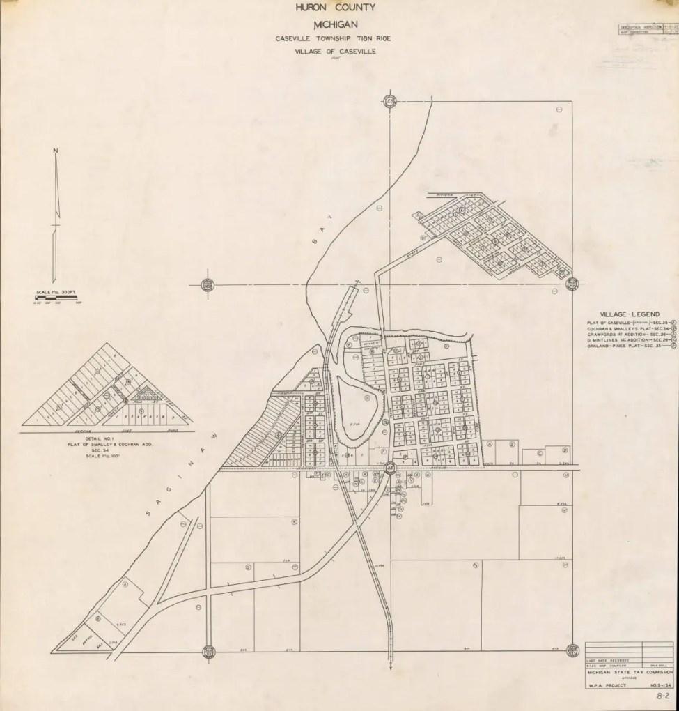 Caseville Harbor History