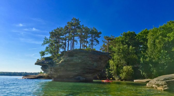 "CNN – Huron's Turnip Rock An ""Amazing Formation in America"""