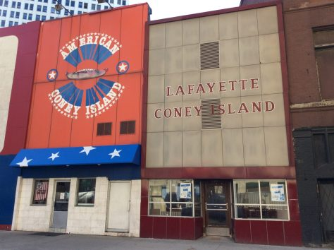 Lafayette and American Coney Island