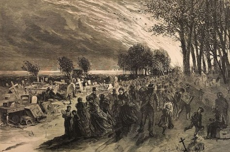 People_escaping_the_Chicago_Fire_fleeing_into_Lincoln_park_1871