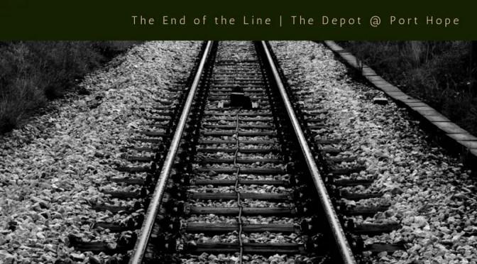 1903 Railway Depot in Port Hope Michigan