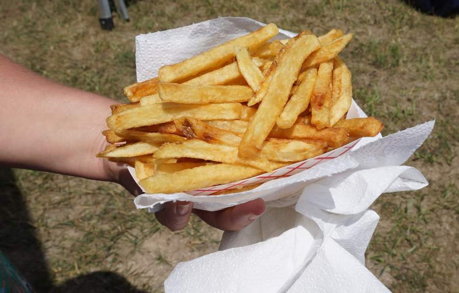 Gibby's homemade french Fries