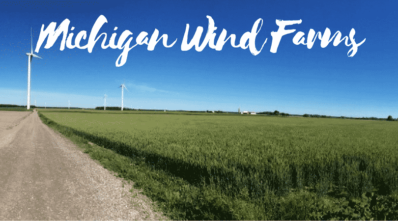 Michigan Wind Farm Map • Active, and Planned Wind Projects