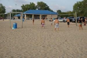 Caseville County Park Beach Volleyball