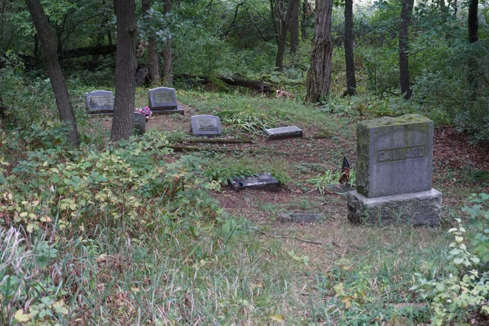 Haunted Michigan Old Colony Cemetery