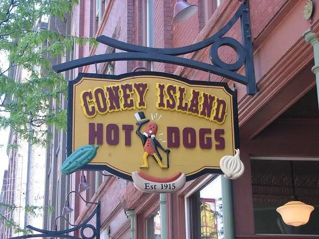 Oldest Coney Island in Michigan